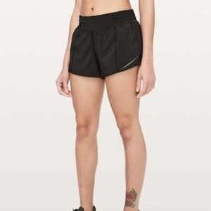 Lululemon High Rise Hotty Hot Shorts 2.5""